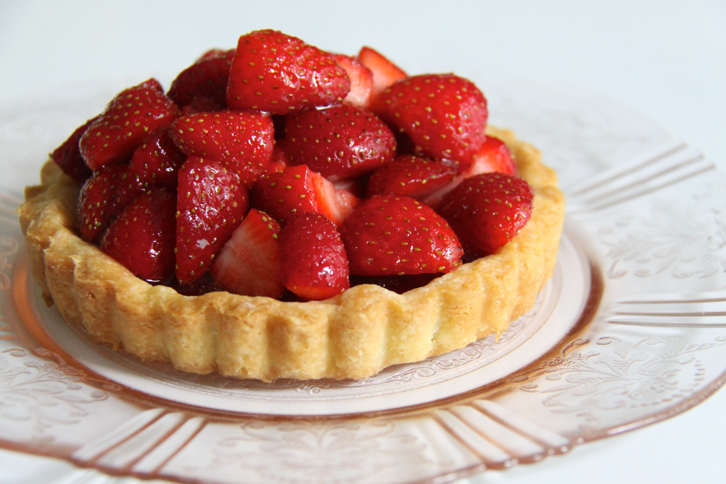 Strawberry Tart Recipe — Dishmaps
