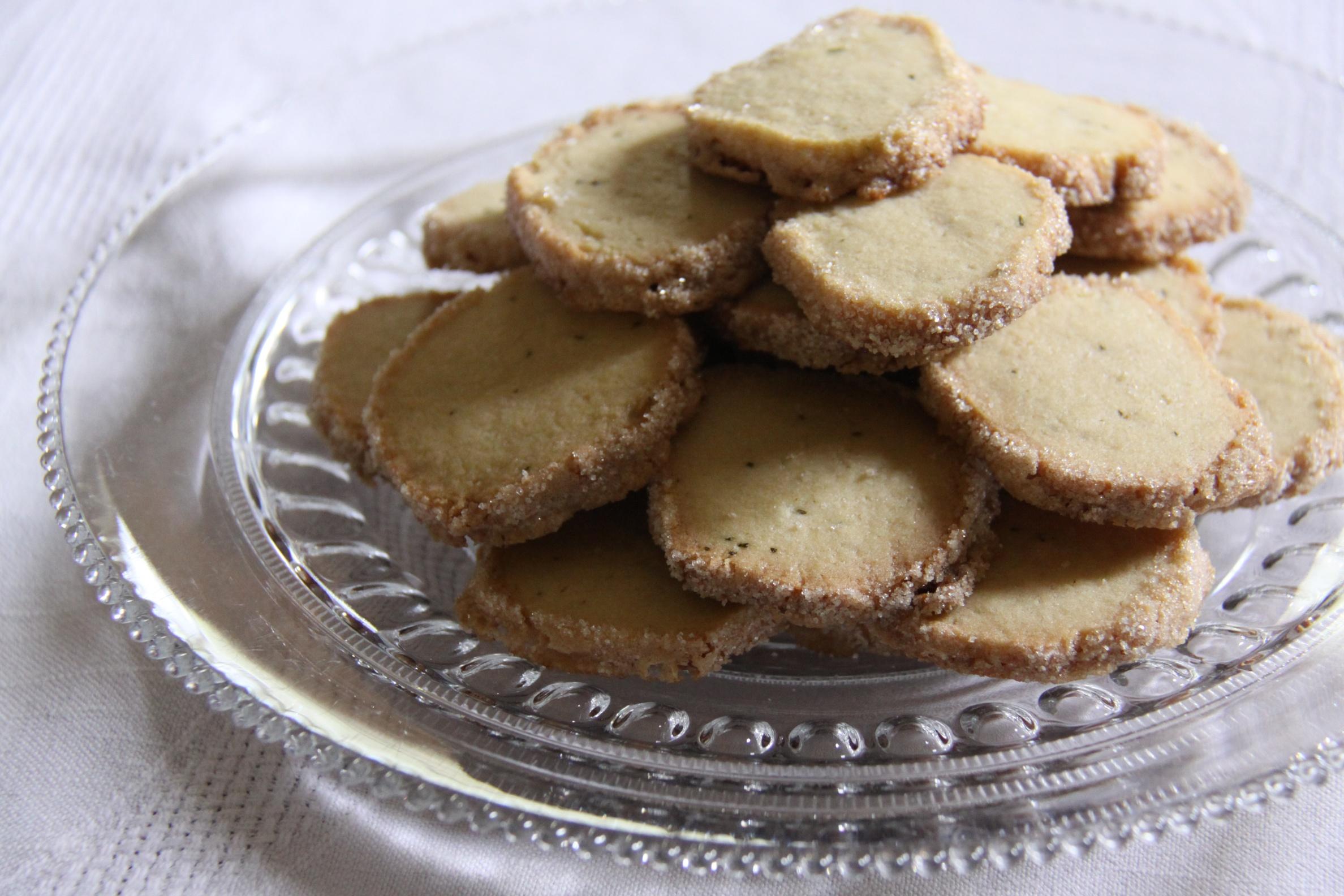 Herb Shortbread Cookies Gourmandistan