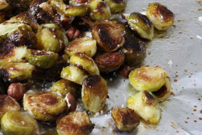 Delicious Brussels sprouts (and vegan!)