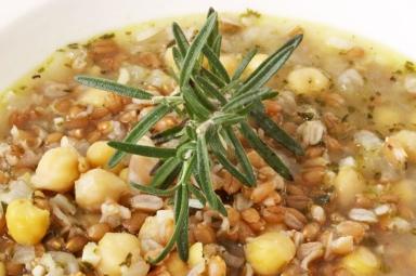 farro-soup