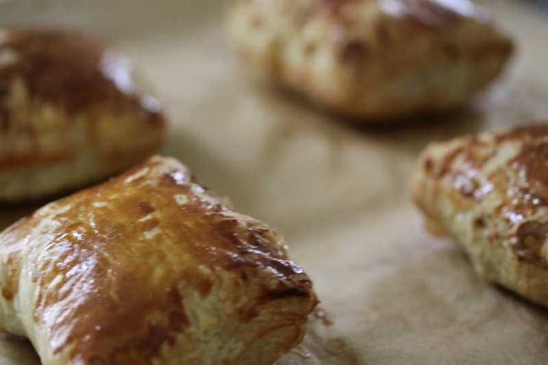 Puff pastry meat pies2