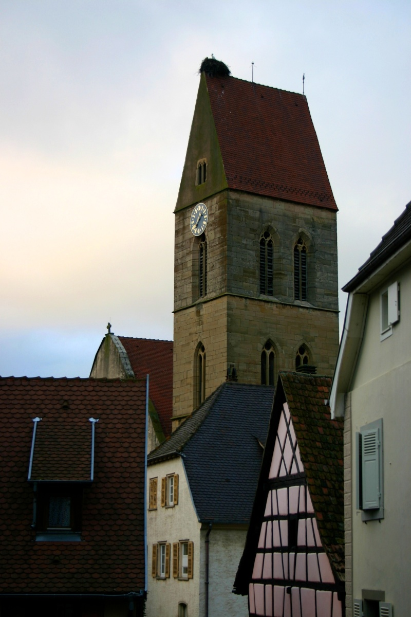 Eguisheim church