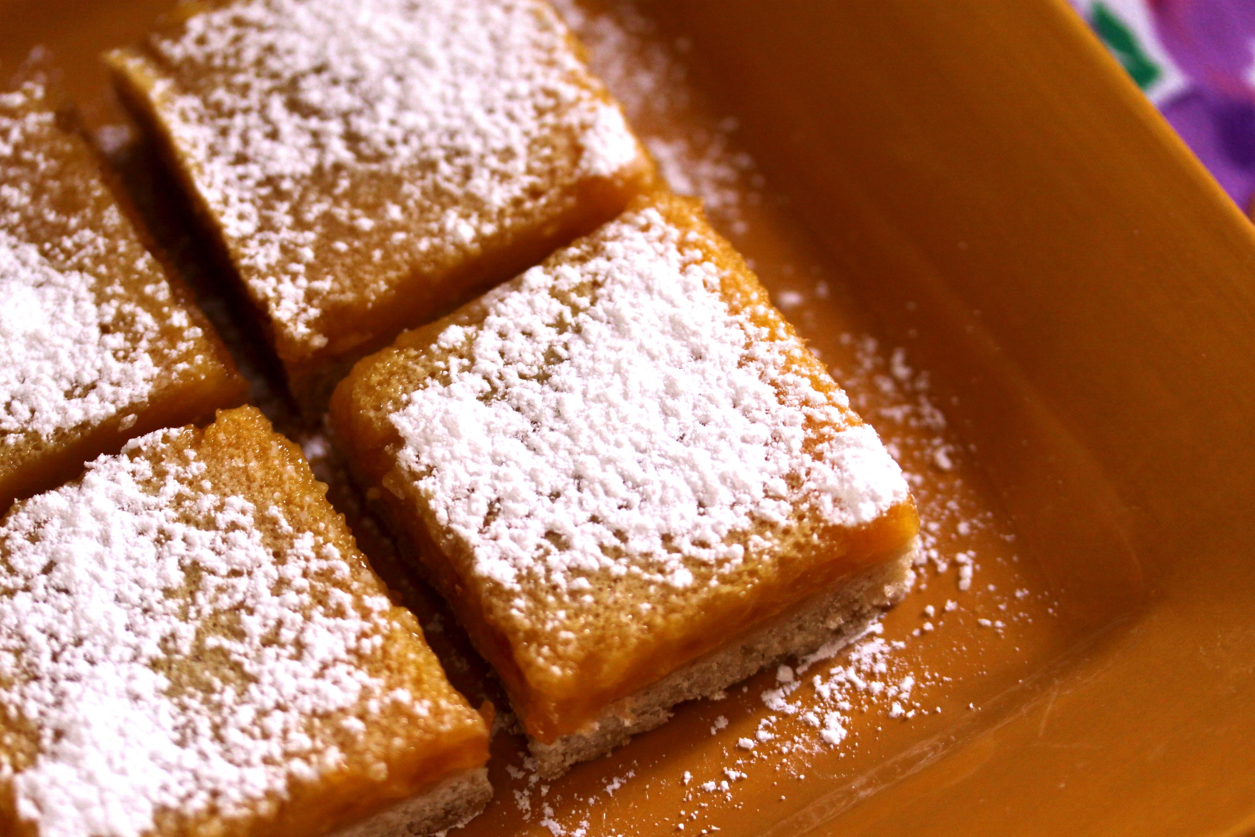Apricot Bars Recipe — Dishmaps