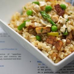 Brown rice & vegetables