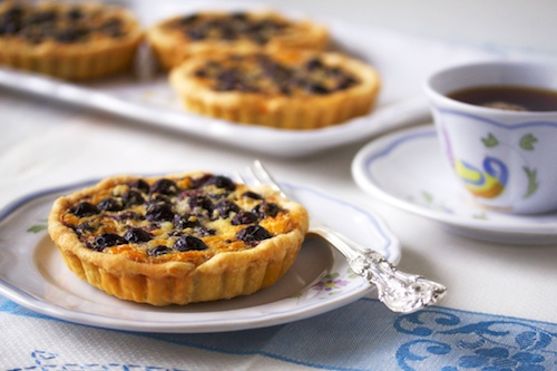 Blueberry Almond Tarts