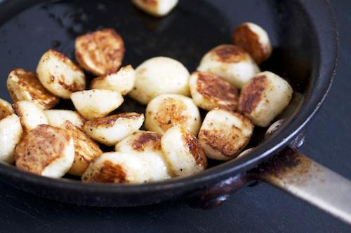 Roasted Japanese Turnips
