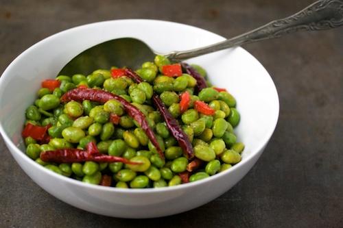 Stir-Fried Soy Beans