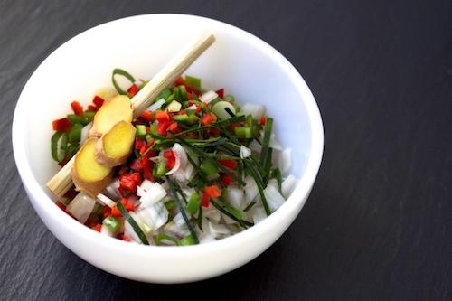 Thai Hot and Sour Shrimp Broth seasonings