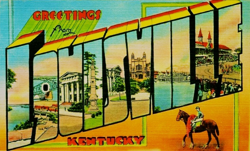 Louisville postcard