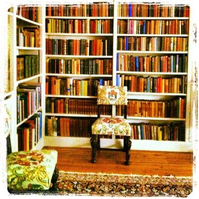 Rhodds Barn library