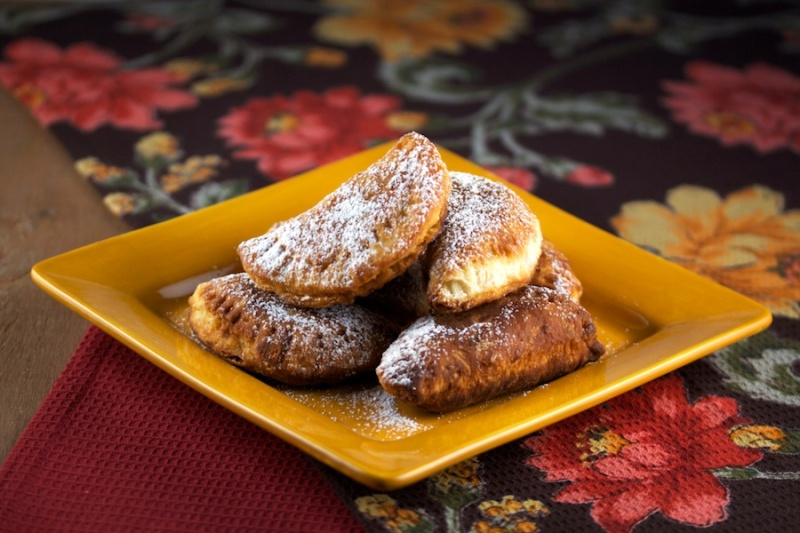 Fried apple pies (biscuit version)
