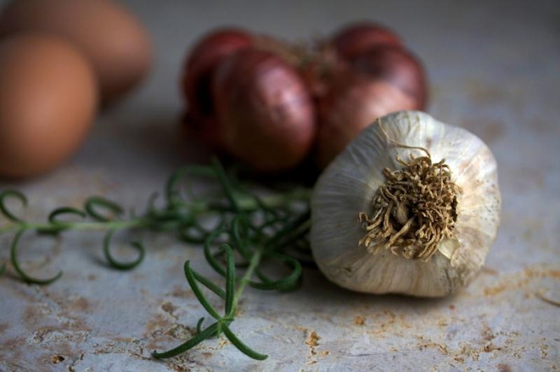 Garlic, shallots