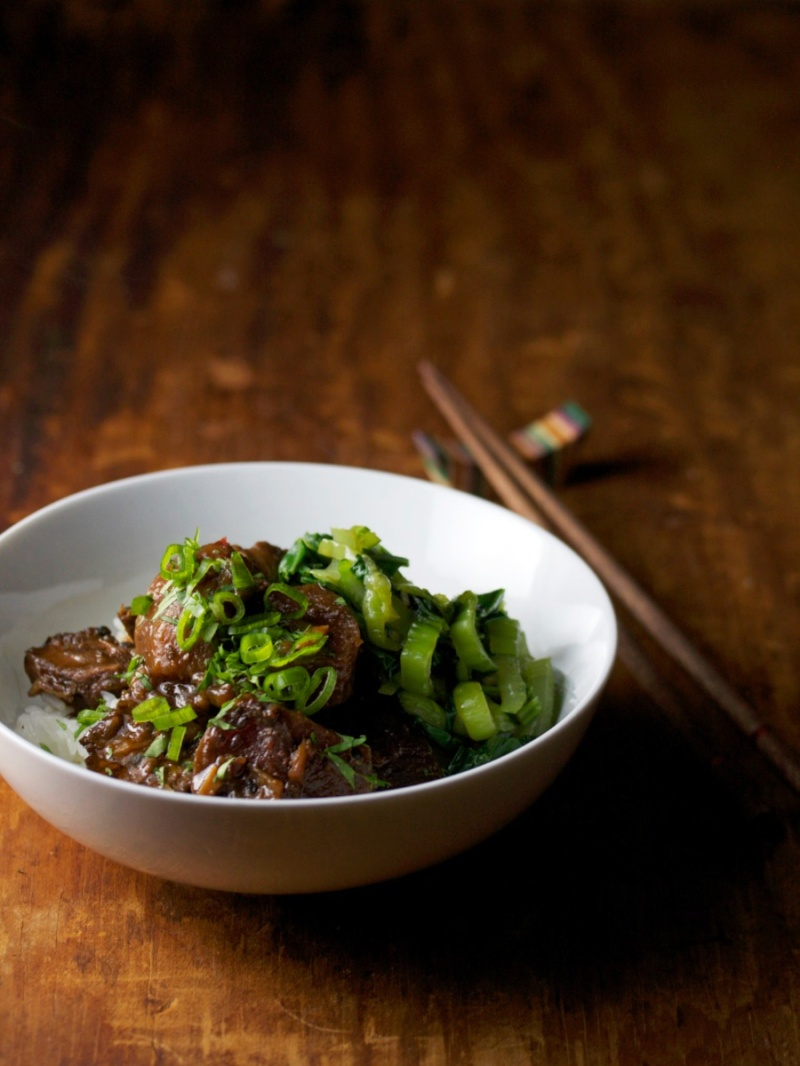 Beef Roast with Miso and Radish