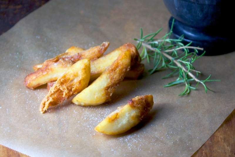 Triple-cooked chips