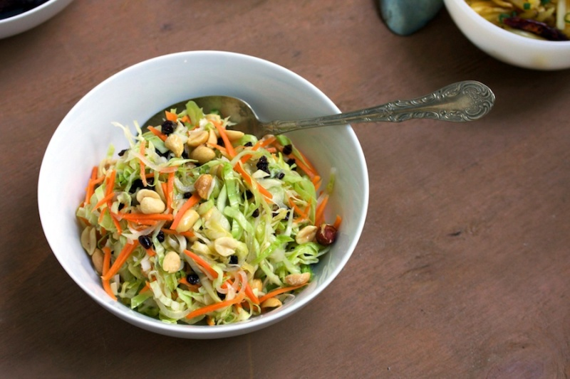 Fusion coleslaw