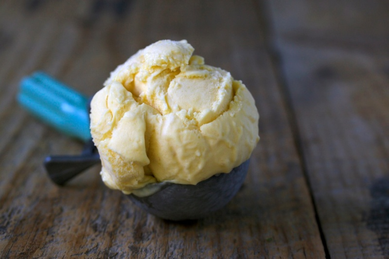 Pawpaw ice cream