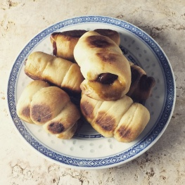 Chinese sausage rolls