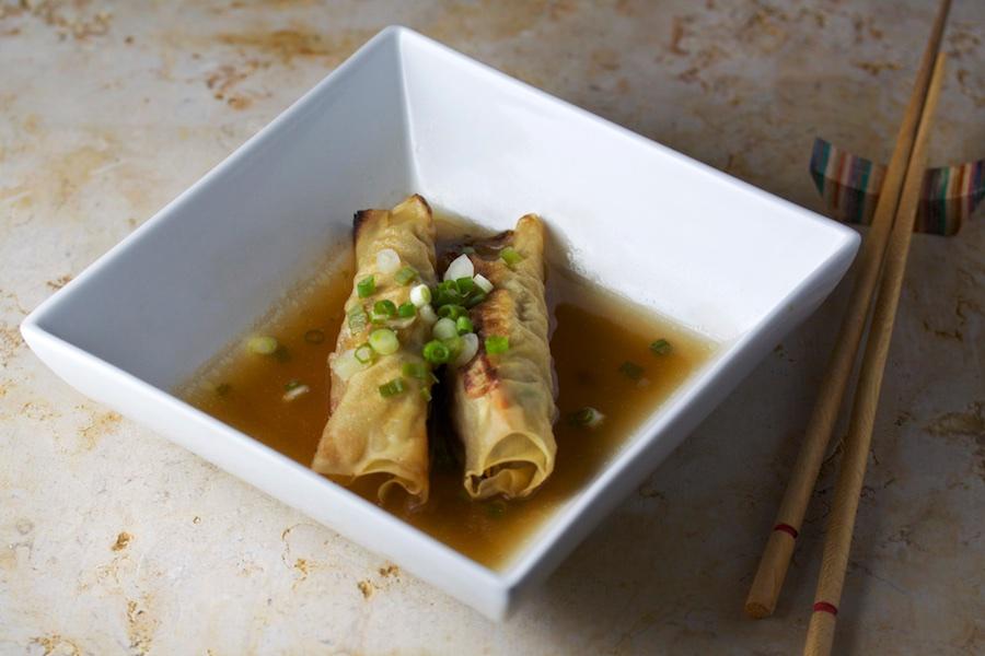Tofu Skin Rolls Recipe — Dishmaps