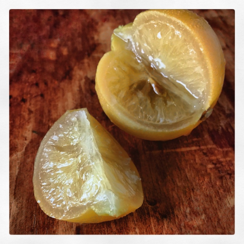 Preserved lemon