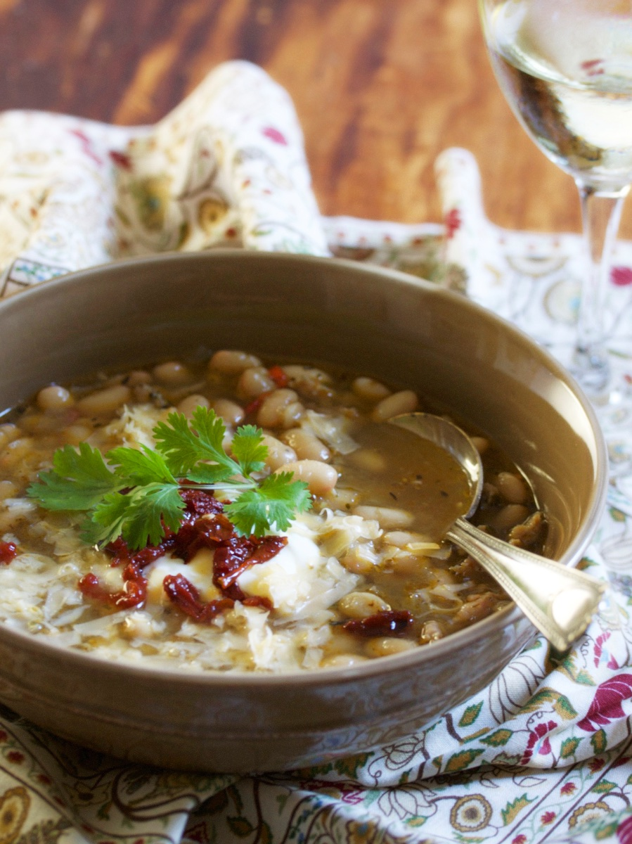 White chili, because we have a book to sell | Gourmandistan