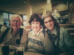 Dad, Buffy, Mom