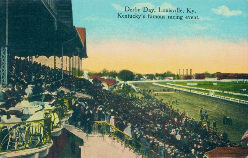 Derby postcard