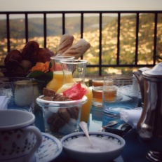 St.-Paul de Vence breakfast